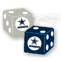 Dallas Cowboys NFL 3 Car Fuzzy Dice""