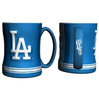 Los Angeles Dodgers MLB Coffee Mug - 15oz Sculpted (Single Mug)