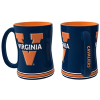 Virginia Cavaliers NCAA Coffee Mug - 15oz Sculpted (Single Mug)