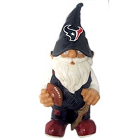 Houston Texans NFL 11 Garden Gnome""
