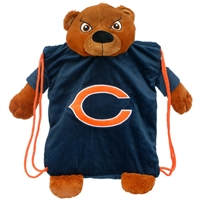 Chicago Bears NFL Plush Mascot Backpack Pal