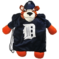 Detroit Tigers MLB Plush Mascot Backpack Pal