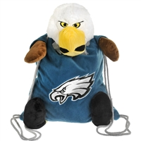 Philadelphia Eagles NFL Plush Mascot Backpack Pal