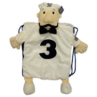 Milwaukee Brewers MLB Plush Mascot Backpack Pal - Italian Sausage