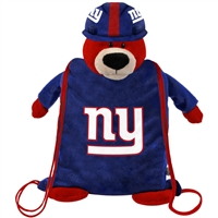 New York Giants Plush Mascot Backpack Pal