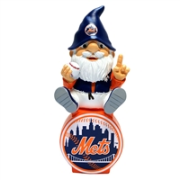 New York Mets MLB Gnome On Team Logo