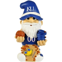 Kansas Jayhawks NCAA Garden Gnome 11 Thematic  (Second Edition)