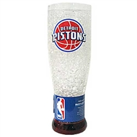 Detroit Pistons NBA Crystal Pilsner Glass