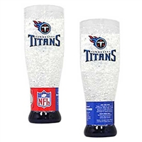 Tennessee Titans NFL Crystal Pilsner Glass