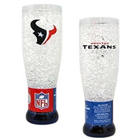 Houston Texans NFL Crystal Pilsner Glass