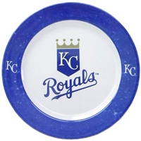 Kansas City Royals MLB 4 Piece Dinner Plate Set