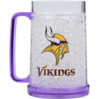 Minnesota Vikings NFL Crystal Freezer Mug