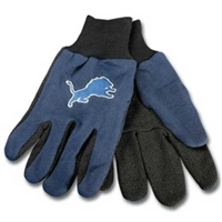 Detroit Lions NFL Two Tone Gloves
