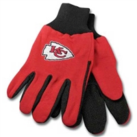 Kansas City Chiefs NFL Two Tone Gloves