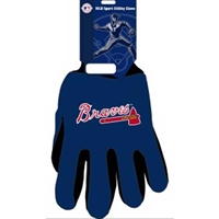 Atlanta Braves MLB Two Tone Gloves