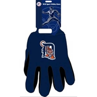 Detroit Tigers MLB Two Tone Gloves