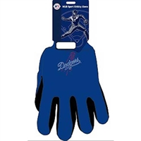 Los Angeles Dodgers MLB Two Tone Gloves
