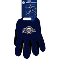 Milwaukee Brewers MLB Two Tone Gloves