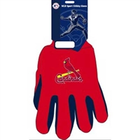 St. Louis Cardinals MLB Two Tone Gloves
