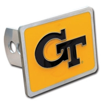Georgia Tech Yellow Jackets Trailer Hitch Cover