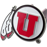 Utah Utes Trailer Hitch Cover