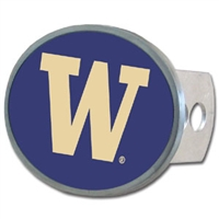 Washington Huskies Oval Hitch Cover