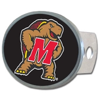 Maryland Terrapins Oval Hitch Cover