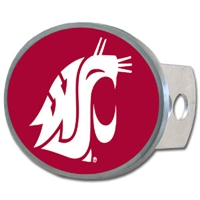 Washington State Cougars Oval Hitch Cover