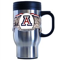 Arizona Wildcats Stainless Steel 18 Ounce Travel Mug