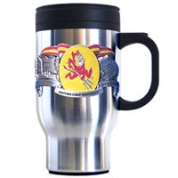 Arizona State Sun Devils Stainless Steel Travel Mug