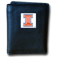 Illinois Fighting Illini Tri-fold Wallet