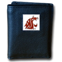 College Tri-fold Wallet - Washington St. Cougars