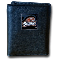 College Tri-fold Wallet - Oregon St. Beavers