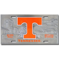Tennessee- 3D License Plate
