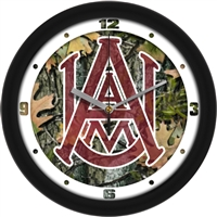 "Alabama A&M Bulldogs 12"" Wall Clock - Camo"