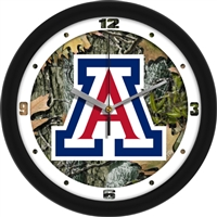 "Arizona Wildcats 12"" Wall Clock - Camo"