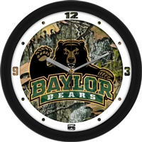 "Baylor Bears 12"" Wall Clock - Camo"