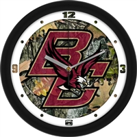 "Boston College Eagles 12"" Wall Clock - Camo"