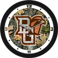 "Bowling Green Falcons 12"" Wall Clock - Camo"