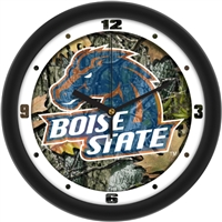 "Boise State Broncos 12"" Wall Clock - Camo"