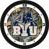 "Brigham Young Cougars 12"" Wall Clock - Camo"