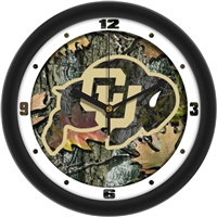 "Colorado Buffaloes 12"" Wall Clock - Camo"