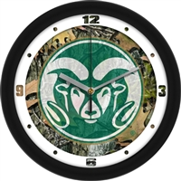 "Colorado State Rams 12"" Wall Clock - Camo"