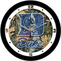 "Duke Blue Devils 12"" Wall Clock - Camo"