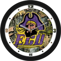"East Carolina Pirates 12"" Wall Clock - Camo"