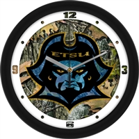 "East Tennessee State Buccaneers 12"" Wall Clock - Camo"