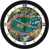"Florida Gators 12"" Wall Clock - Camo"