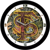 "Florida State Seminoles 12"" Wall Clock - Camo"
