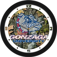 "Gonzaga Bulldogs 12"" Wall Clock - Camo"