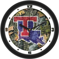 "Louisiana Tech Bulldogs 12"" Wall Clock - Camo"